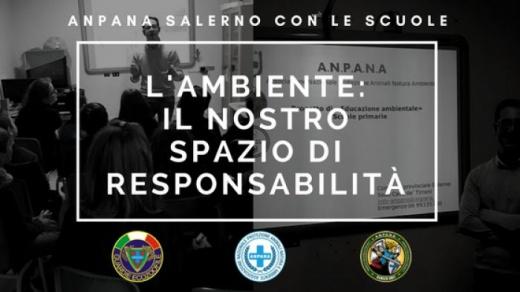 Anpana Salerno a scuola con progetto 'L'Ambiente: il nostro spazio di responsabilità'