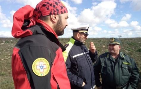 L'Anpana all'esercitazione di soccorso alpino e speleologico al Pulo sull'Alta Murgia
