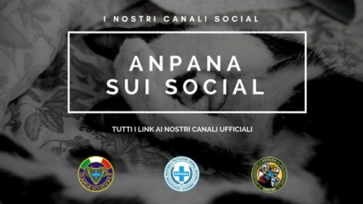I canali social di ANPANA onlus