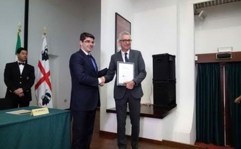 """Nuoro, consegnato alla Sardegna il premio di """"Isola forestale d'Europa"""