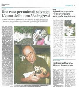 Mantova CRAS - un anno di lavoro