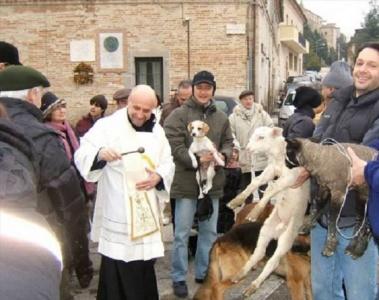 Anpana patrocina la benedizione degli animali in piazza Cavour