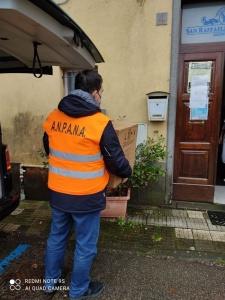 Viterbo. Il nucleo di protezione civile dell'ANPANA in campo a favore delle RSA della provincia.