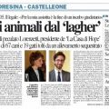 SALVO' GLI ANIMALI DA LAGHER