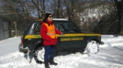 Viterbo, canile di Bagnaia sotto la neve - ANPANA c'è!