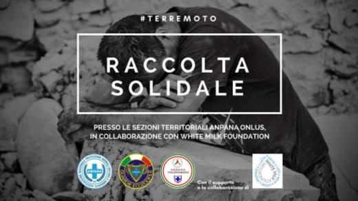 #terremoto | Anpana Onlus attiva Raccolta Solidale in collaborazione con WMF